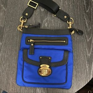 NWOT - JPK Paris 75 Royal Blue Crossbody Bag